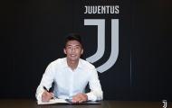 CHÍNH THỨC: Juventus ký hợp đồng với sao trẻ Triều Tiên