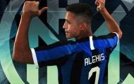 CHÍNH THỨC! Alexis Sanchez chốt số áo tại Inter Milan