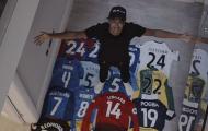 Khoe bộ sưu tập áo đấu, Lingard tiết lộ luôn cầu thủ yêu thích nhất