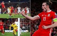 Bale nổ súng ầm ầm, hết giải cứu Real Madrid giờ tới xứ Wales