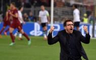 Eusebio Di Francesco và những năm tháng không thể quên với AS Roma