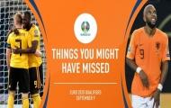 5 điều bạn có thể bỏ lỡ ở loạt trận vòng loại EURO vừa qua
