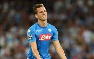 Napoli đón tin vui trước thềm đại chiến với Liverpool ở C1