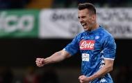 Napoli đón tin dữ trước đại chiến ở Cúp C1