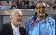 Tin được không? 'Sếp lớn' Napoli đã khen ngợi Maurizio Sarri