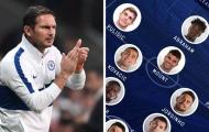 Lampard có thể sử dụng đội hình nào ở trận gặp Wolves?