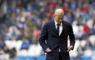Trung tuyến tan nát, Zidane giờ đây phải 'bấu víu' vào một cái tên