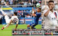 Neymar lập siêu phẩm, PSG chiến thắng nhọc nhằn trước Strasbourg