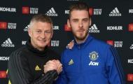 De Gea ở lại, Man Utd phải cám ơn một người
