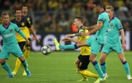 Ter Stegen hóa 'thần', Barca may mắn có điểm rời Signal Iduna Park