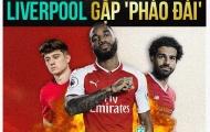 [INFOGRAPHIC] - Vòng 6 Premier League: Arsenal, Man Utd đụng 'đá tảng', Liverpool gặp 'pháo đài'