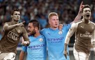 Sau màn hủy diệt: De Bruyne 'hạ' Ozil; Bernardo sánh ngang Ronaldo