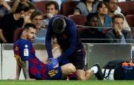 Khuỵu gối, Messi nói 1 câu đầy bi ai khiến các CĐV Barca xót xa