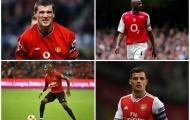 Cuộc chiến Man Utd - Arsenal và 'giá trị' của tấm băng thủ quân