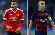Người cũ Man Utd: 'Tôi nói với cậu ấy hãy học hỏi Iniesta'