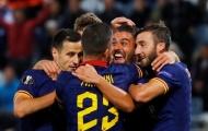 Tung 19 cú sút, AS Roma vẫn 'sa lầy' trên đất Áo