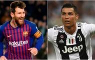 Lionel Messi lại chính thức vượt mặt Cristiano Ronaldo