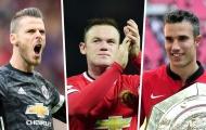 Đội hình hay nhất Man Utd 10 năm qua: Cây săn bàn vĩ đại!