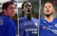 Hazard và Kante lọt vào ĐHTB Chelsea 10 năm qua
