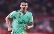 Real giữ James, đã rõ mưu đồ thâu tóm 'quái vật tuyến giữa' của Zidane