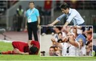 Chỉ trích Tiến Dũng, HLV Nhật Bản quên điều mình từng làm ở World Cup 2018