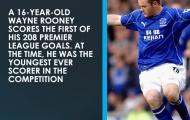 Ngày này năm xưa: Rooney có kỷ lục đầu tiên tại Premier League