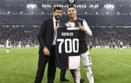 Được Juventus tặng quà, Ronaldo nói lời cảm động
