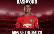 10 'vị vua' vòng 9 Premier League: Rashford được vinh danh; Cú hích cho sao Tottenham