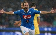 Higuain, Mertens và 8 cầu thủ ghi nhiều bàn thắng nhất trong lịch sử Napoli