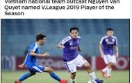 Báo châu Á: HLV Park Hang-seo bỏ quên cầu thủ xuất sắc nhất V-League 2019