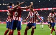 'Thiên thần có cánh' của Atletico lại khiến Châu Âu sửng sốt với kỷ lục mới