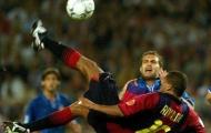 Rivaldo lập siêu phẩm vào lưới Real Valladolid