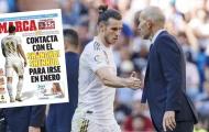 Sau tất cả, Bale vẫn quyết 'đoạn tuyệt' Zidane đến cùng!
