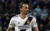 Trước ngày chia tay, Ibrahimovic vẫn được MLS vinh danh