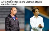 Báo châu Á: Đó là một 'cú phản đòn' của HLV Park Hang-seo với HLV Nishino