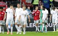 '50 sắc thái' thất thần của dàn sao Bayern ở trận thua lịch sử