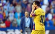 Messi bất lực, Barca 'phơi áo' trên sân Levante