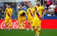 Ngoài Messi, đây là cái tên duy nhất có thể ngẩng cao đầu sau thảm bại Levante!