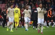 Những ai tệ nhất bên phía Man Utd ở trận thua trước Bournemouth?