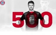 Thomas Muller cán cột mốc lịch sử trong ngày Bayern Munich thảm bại
