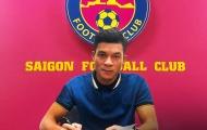CHÍNH THỨC: Trò cưng Miura rời Long An về đầu quân cho Sài Gòn FC