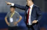 """Tướng Chung Hae-seong nhận quà """"đặc biệt"""" từ V-League"""