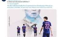 """Đấu Việt Nam: Người Thái lại """"gây chiến"""" với thầy trò tướng Park"""