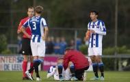 Văn Hậu ra sân đá chính, Jong Heerenveen thua thảm 0-6