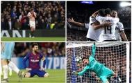 'Cánh tay nối dài' và 9 hình ảnh ấn tượng nhất Champions League sáng nay