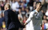 'Làm gỏi' Galatasaray, Zidane vội chối bỏ Ronaldo để tôn vinh một cái tên