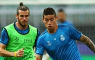 Sau tất cả, Zidane cũng tiết lộ lý do 'ngó lơ' Gareth Bale và James Rodriguez