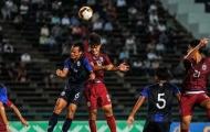NÓNG: U19 Thái Lan thua sốc U19 Campuchia tại giải châu Á