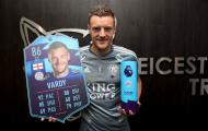 Ở tuổi 32, Vardy đang vượt cả Messi
