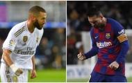 Giúp Real huỷ diệt Eibar, Benzema vượt mặt Messi